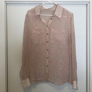 Guess Los Angeles Floral Blouse